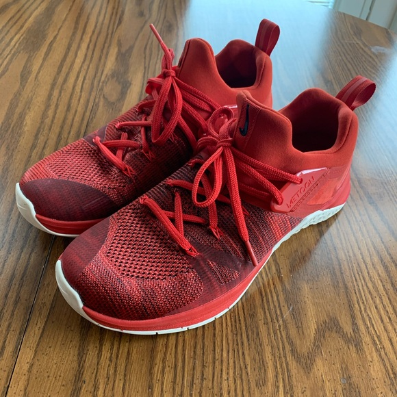 Nike Shoes | Metcon Flyknit 3 Red